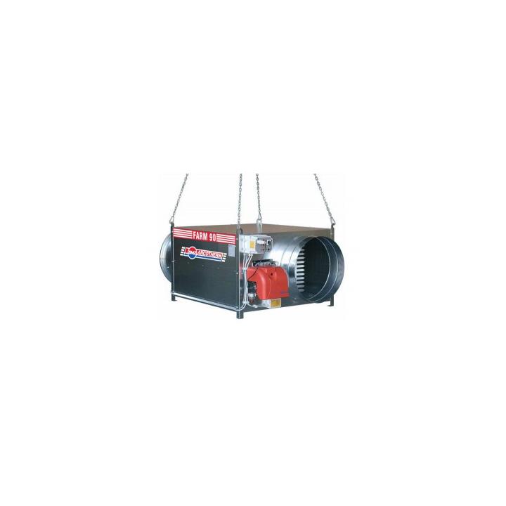 Generator de aer cald Biemmedue suspendat FARM90T pe metan