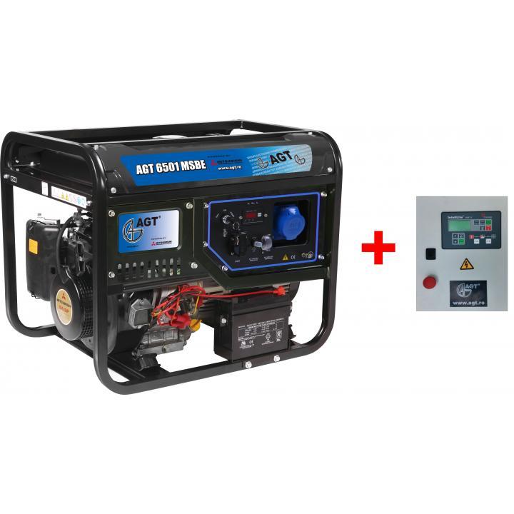 Generator de curent AGT 6501 MSBE + automatizare
