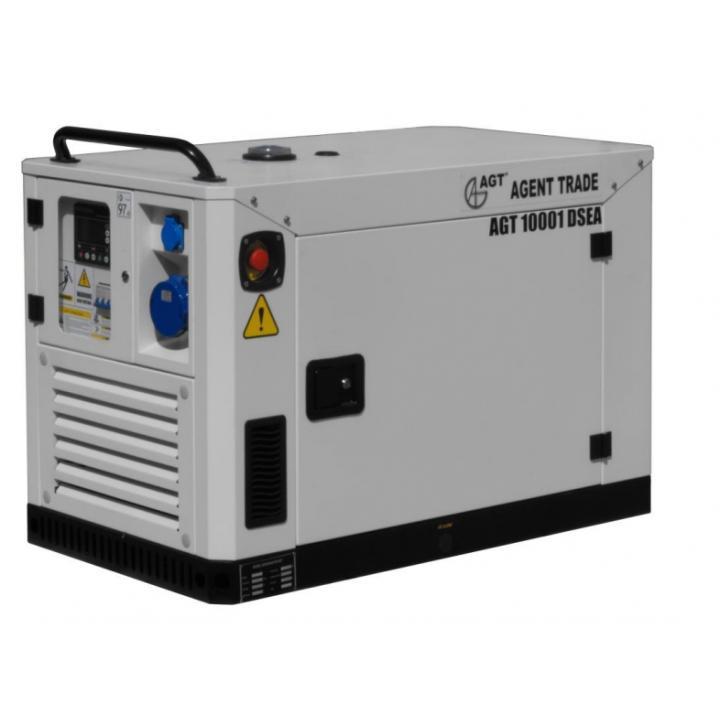 Generator de curent insonorizat AGT 10001 DSEA