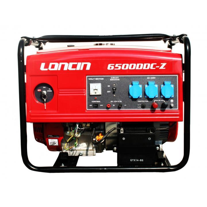 Generator Loncin LC6500DDC-Z 5,5 KW cu automatizare