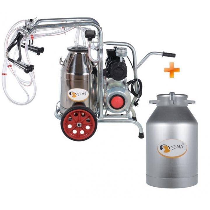 Aparat muls EMT2+1G si bidon transport 40 litri