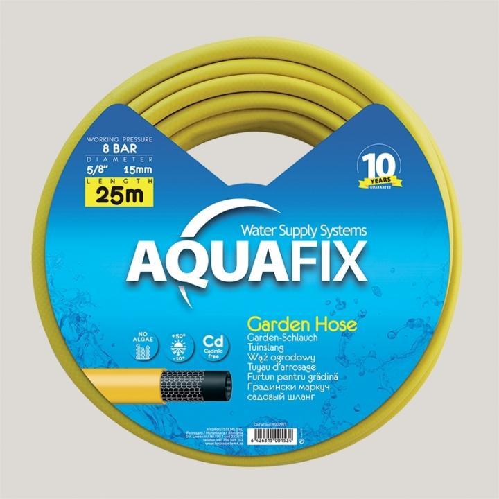 Furtun pentru gradina AquaFix 15mm (5/8'') x 50m