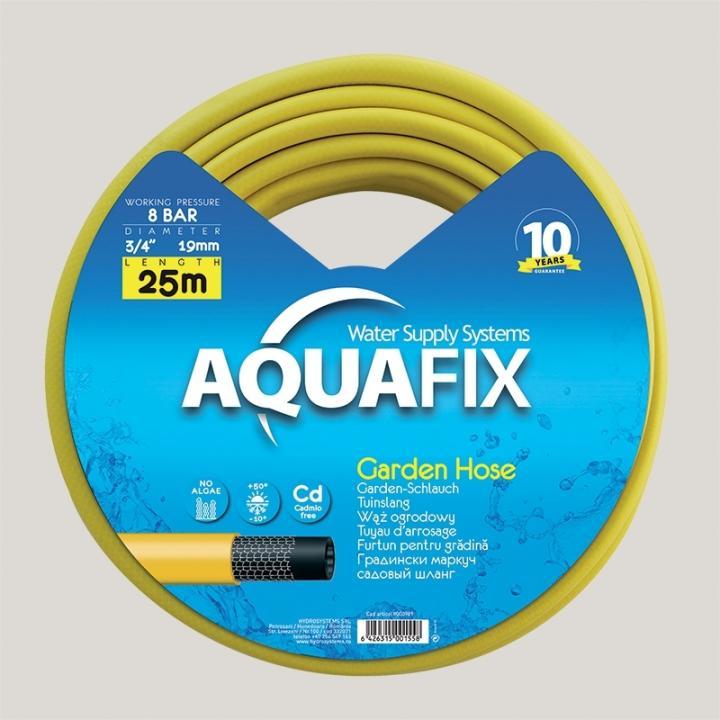 Furtun pentru gradina AquaFix 19mm (3/4'') x 25m