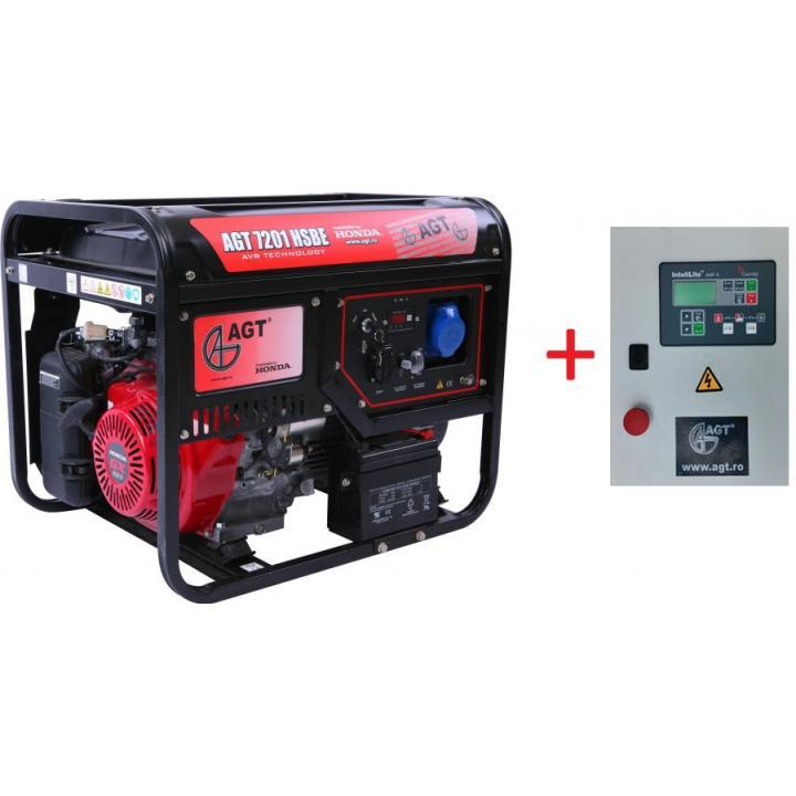 Generator de curent AGT 7201 HSBE TTL + automatizare