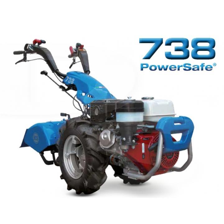 Motocultor BCS 738 Power Safe Honda GX270 9 CP