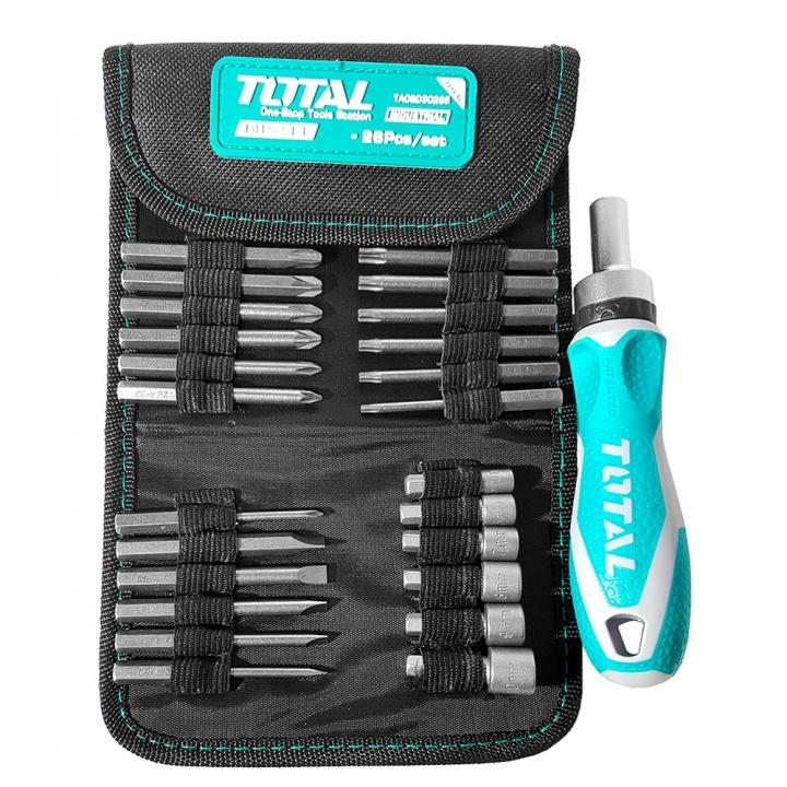 Surubelnita 26 de piese Total Tools