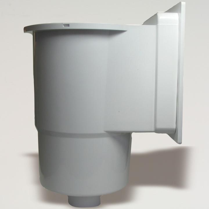 Tub inox, evacuare fum, 1 m, diametru 120mm