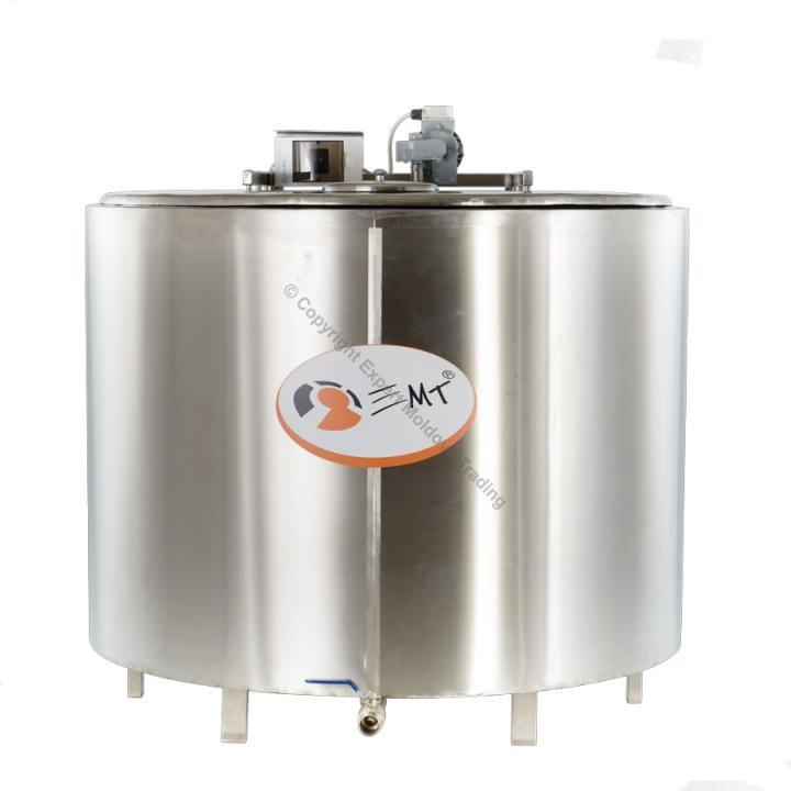 Tanc de racire inox EMT capacitate 500 litri - 380 v