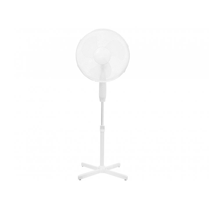Ventilator cu picior Dedra 16 inch alb