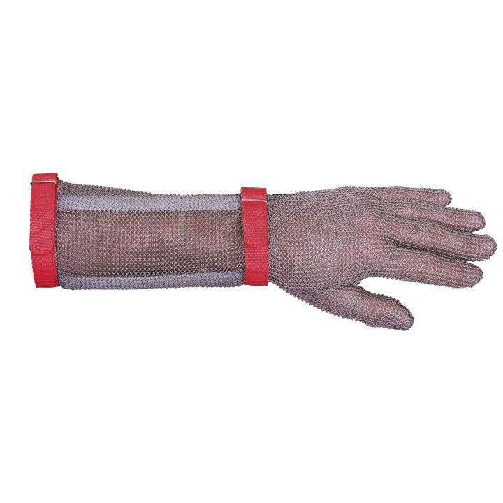 Manusa din zale lunga, reversibila, cu manseta de 19 cm
