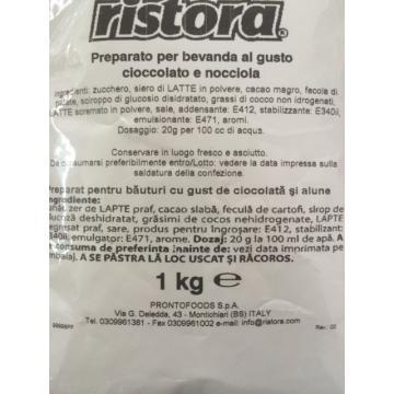 Ciocolata calda cu aroma de alune Ristora