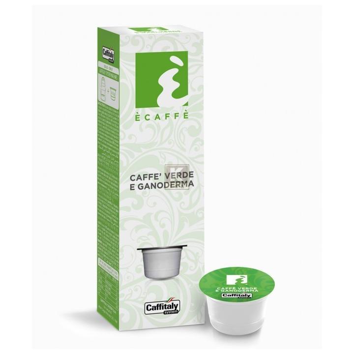 Cafea capsule Ecaffe Verde & Ganoderma
