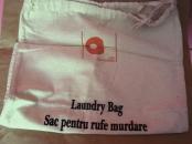 Sac textil haine murdare