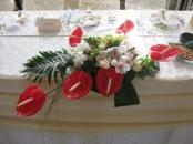 Aranjamente florale masa mirilor