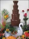Tort si fantana de ciocolata