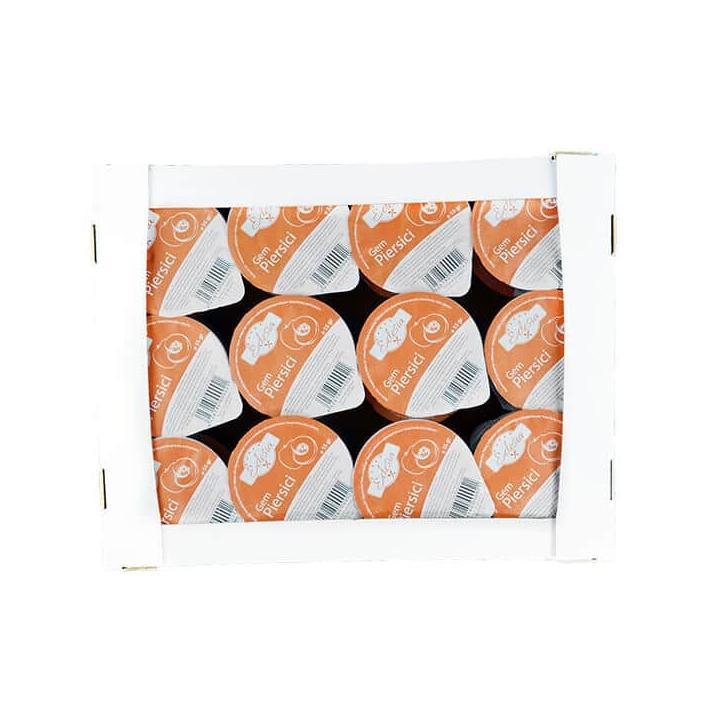 Gem de piersici Edesia, 8 cutii x 24 caserole