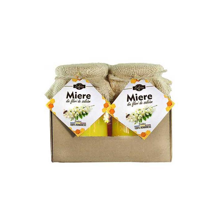 Miere de salcam Edesia - borcan 400g., 6 borcane