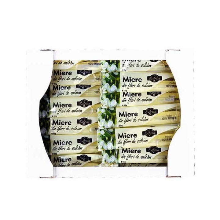 Miere de salcam Edesia plic 15g, 12 cutii x 100buc./cutie