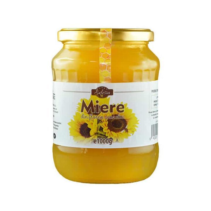 Miere de floarea soarelui Edesia - borcan 1000g