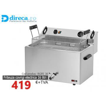Friteuza covrigi/gogosi electrica 16 litri