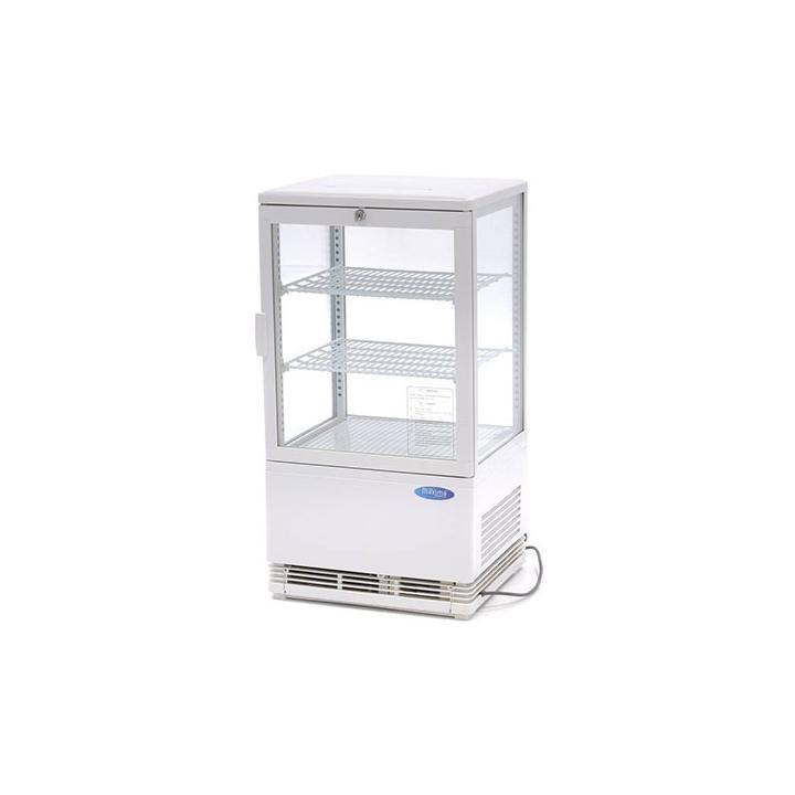 Vitrina frigorifica verticala 58 litri alba