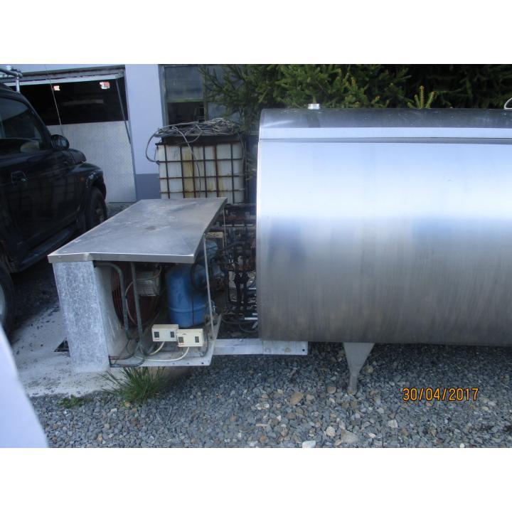 Racitor inox lapte Alfa Laval 3500 litri
