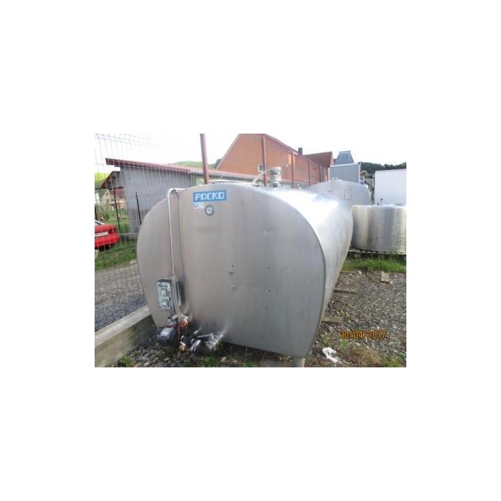 Rezervor inox lapte Packo 4800 litri