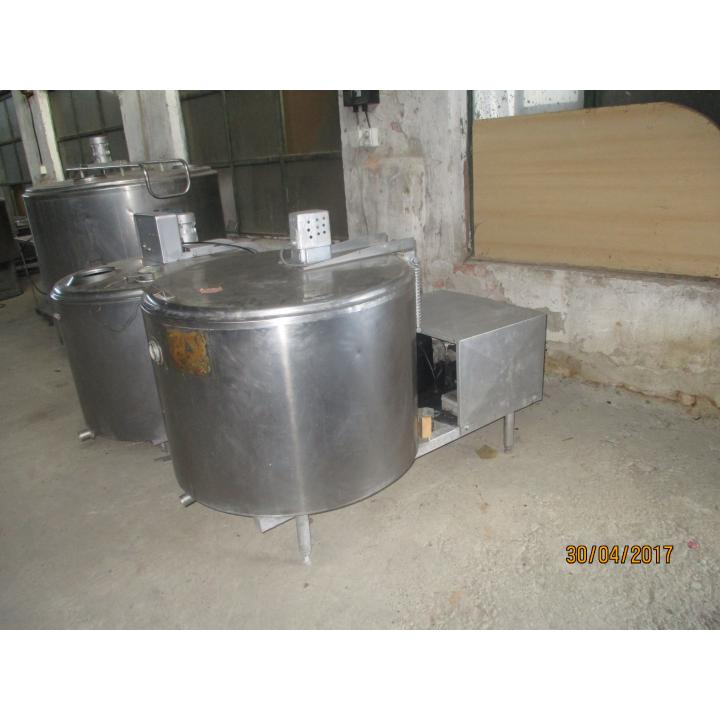Racitor inox lapte Fontsere 250 litri