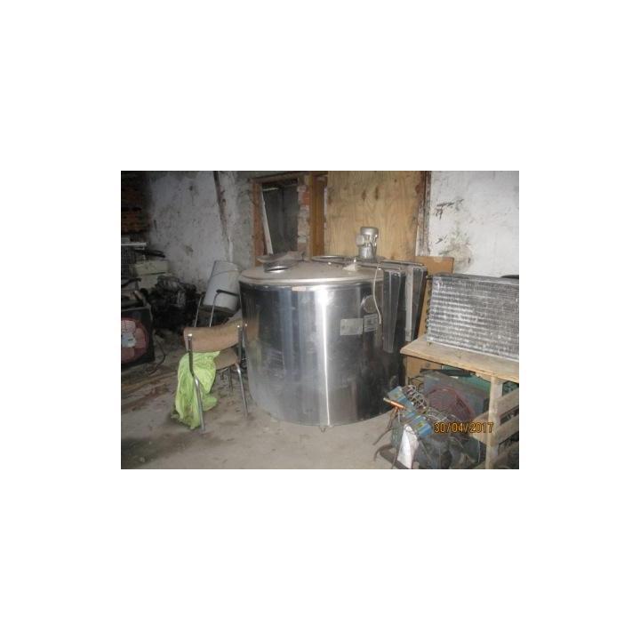 Racitor inox lapte Wedholms 900 litri
