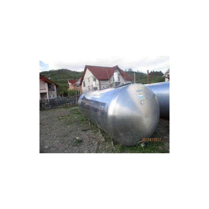 Rezervor lapte inox IK 8000 litri