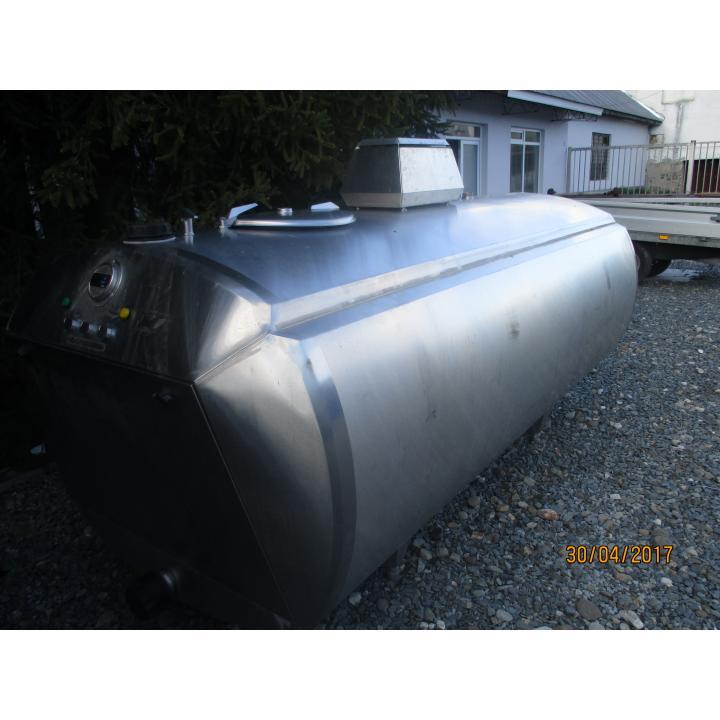 Tanc inox pastrare lapte Alfa Laval 1700 litri
