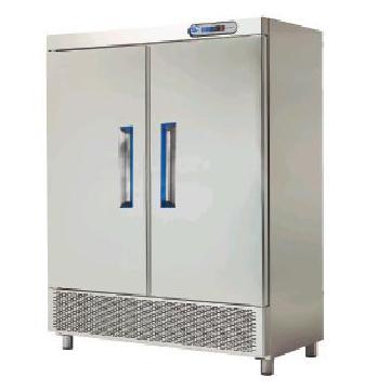 Congelator vertical inox cu 2 usi snack