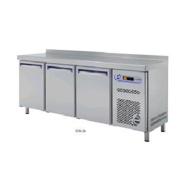 Masa de lucru cu frigider 2 usi linia 700