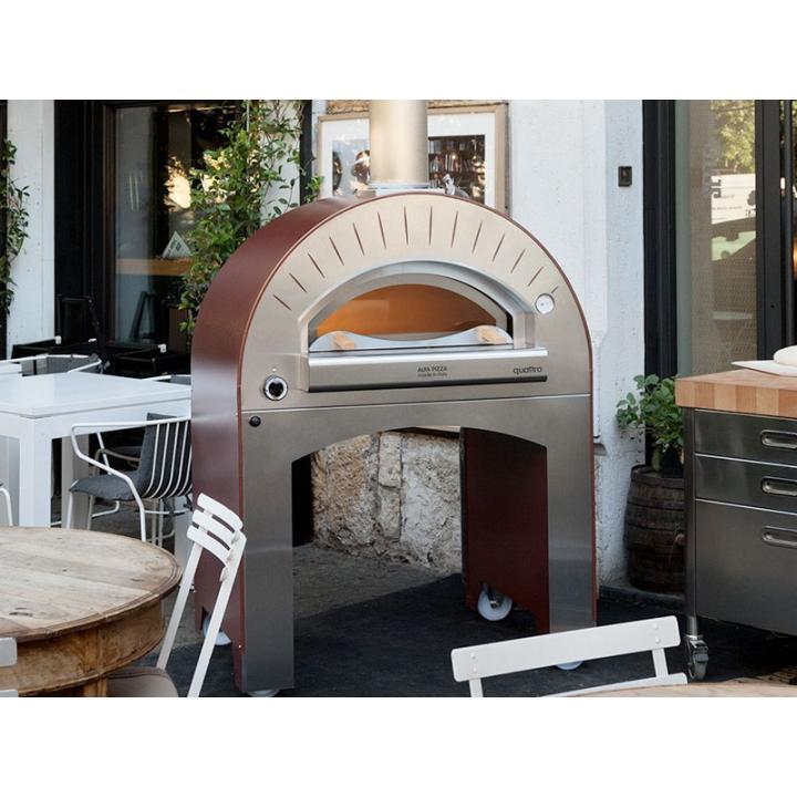 Cuptor pizza pe lemne profesional Alfa Pizza