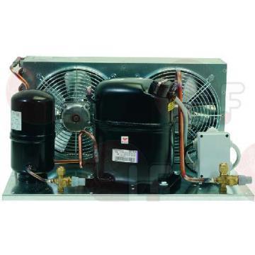 Unitate frigorifica cu 2 ventilatoare si robineti freon