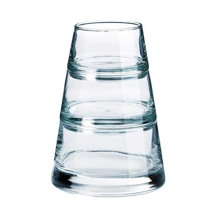 Pahare sticla Piramida Vertigo