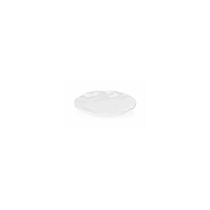 Platou rotund din melamina alba, diametru 35 cm