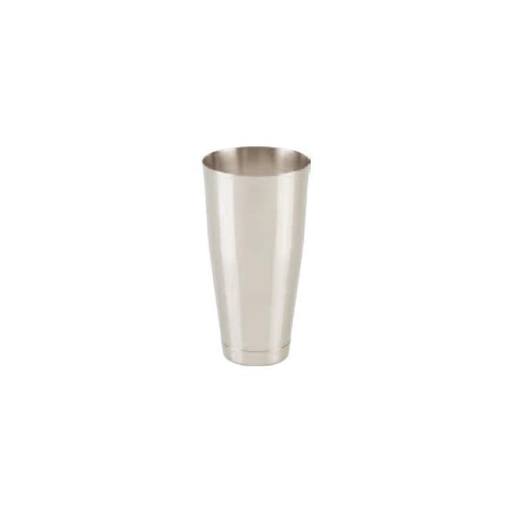 Shaker (fara pahar) din inox Boston, 840 ml