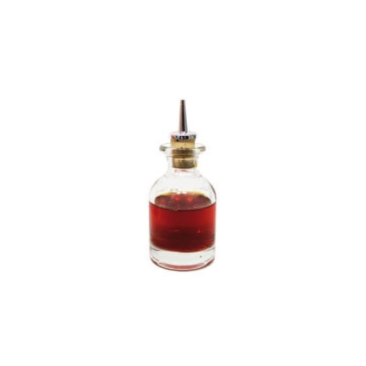 Sticla pentru esente/uleiuri fara dop picurator, 100 ml
