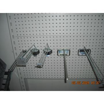 Placa spate perforata pentru rafturi metalice