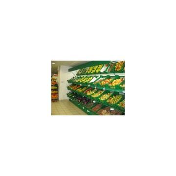 Raft perete pentru legume fructe