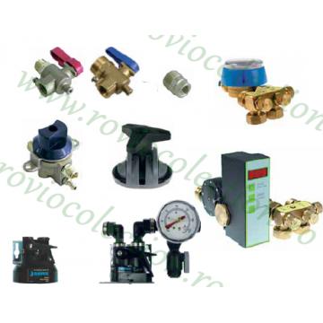 Piese si accesorii pentru echipamente dedurizare apa