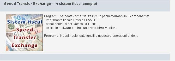 Programe software pentru case de schimb valutar