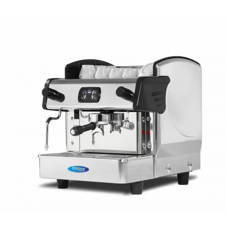 Espressor cafea Maxima Elegance 1, putere 2800W, inox