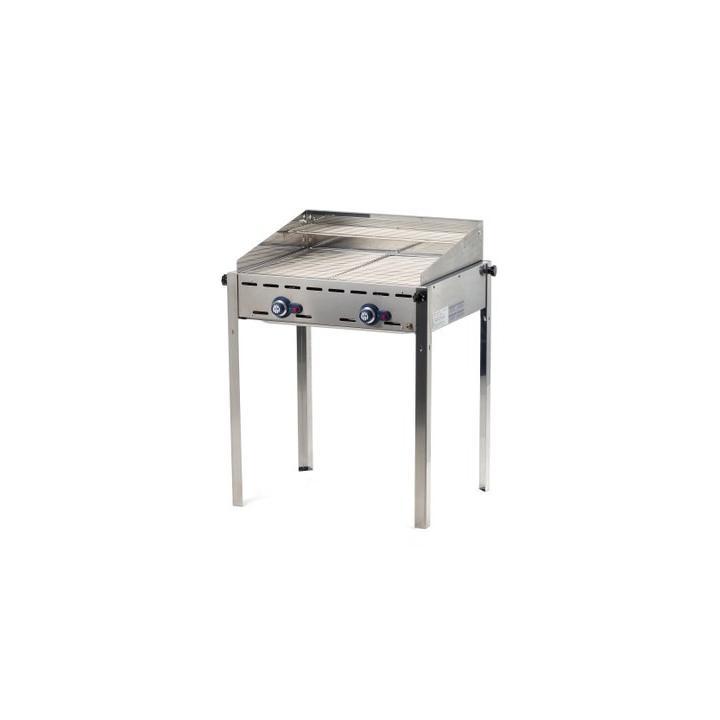 Grill barbecue Green Fire cu 2 arzatoare 149621