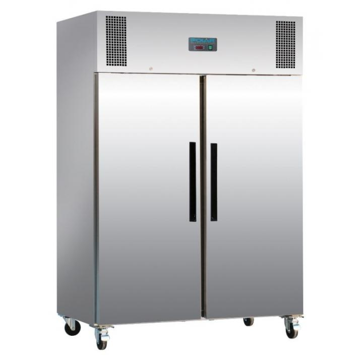 Congelator inox cu 2 usi Polar 1200litri