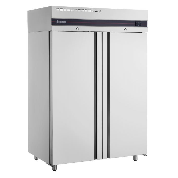 Congelator inox vertical cu 2 usi, Slim Line