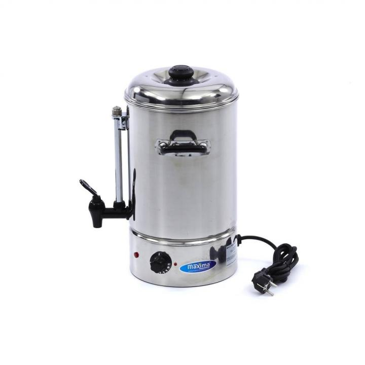 Dispenser apa calda Maxima 10, putere 2000W, inox