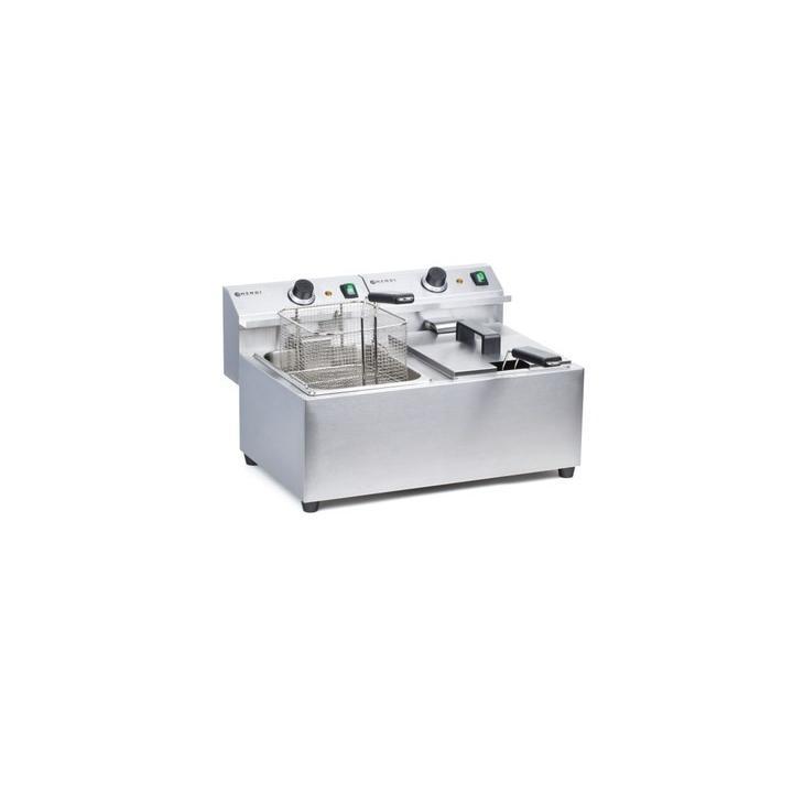 Friteuza electrica Hendi Mastercook 2*8litri, 7 KW