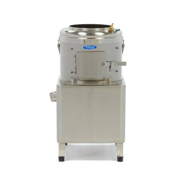 Masina de curatat cartofi si legume tari 15kg/sarja, 300kg/h